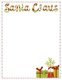 Santa letters create yours using unique interactive letter creator santas stationery choose a stationery create your letter santa letters make an excellent gift and keepsake spiritdancerdesigns Choice Image