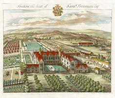 1712 architectural print by Johannes Kip.