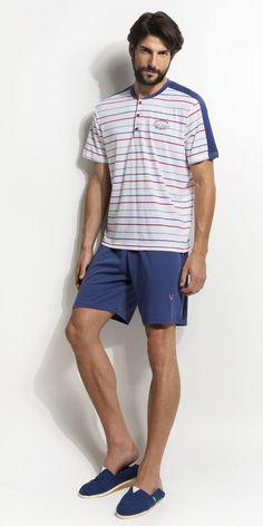 Men's Pyjamas Cotton Mens Pjs, Summer Pajamas, Cotton Pyjamas, Ss 15, Lounge Wear, Hair Style, Men Casual, Sleep, Mens Fashion