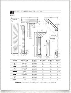 WindsorONE - 1 sheet on Classical Craftsman Moldings | 2715 Santa ...