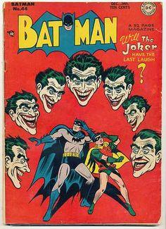 Vintage Batman 40 Golden Age Comic Book DC Comics No Reserve Dec 1947 | eBay