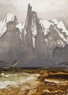 Peder Balke (1804 – 1887, Norwegian) - Stetind (Fra Nordland III) / Høstauksjon 2013 / auksjon - Blomqvist Kunsthandel