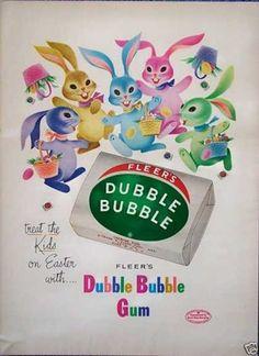 30 Vintage Easter Ad