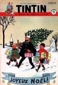 Journal de TINTIN édition Belge N° 51 du 20 Décembre 1950