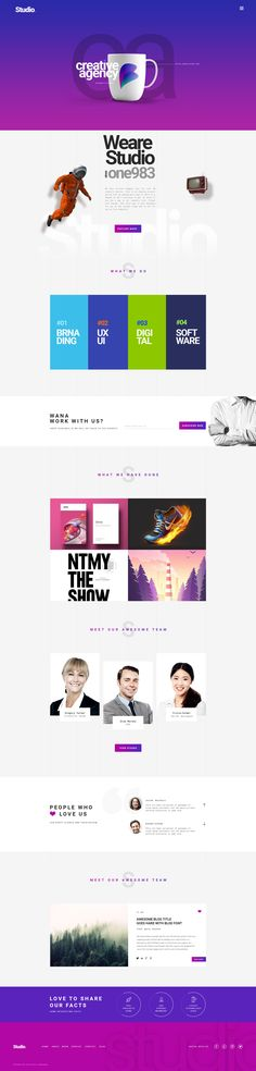 STUDIO | A Creative Agency Multipurpose PSD Template #psd #professional #modern • Download ➝ https://themeforest.net/item/studio-a-creative-agency-multipurpose-psd-template/18886305?ref=pxcr