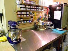 The Bath Factory Soap Store - Hot Springs, Arkansas - Handmade Soap - Workspace