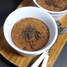 Chocolate Pots De Crème (Vegan & Paleo)
