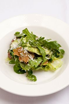 Chicken, anchovy and Parmesan salad by Pete Biggs