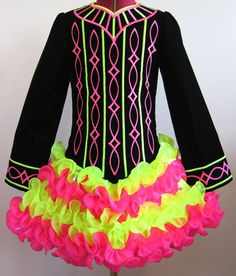 irish dancing dresses to colour - Google Search