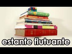 Aprenda a fazer uma estante de livros flutuante | Catraca Livre
