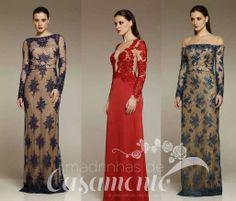 Madrinhas de casamento: Vestidos de festa 2014: Sabor de Hortelã