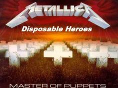 Master of Puppets is the second song on the self-titled third stuido album by the thrash metal band Metallica. It is the title track of their 1986 album with. Thrash Metal, Master Of Puppets, Black Label Society, Lps, Hard Rock, James Hetfield, Metallica Song, Rockers, Album Covers