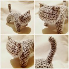 Graphic cat French pattern, link to english Chat Crochet, Crochet Diy, Crochet Amigurumi, Crochet Motif, Amigurumi Patterns, Crochet Crafts, Crochet Dolls, Yarn Crafts, Crochet Projects