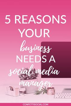 Are you struggling to keep up with the ever changing algorithms of social media? If so, then you may need a social media manager.