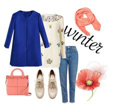 """""""#mydailyfashion#sultankurtay"""" by sultankurtay on Polyvore featuring Topshop, Valentino, Tanya Taylor, H&M and Radley"""