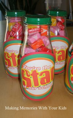Teacher Gift: Starburst