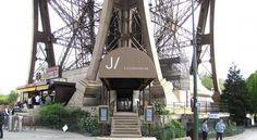 Restaurante Le Jules Verne en la Torre Eiffel en #París - Euroviajar.com