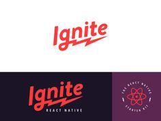 Ignite Logo by Cindy Nguyen #Design Popular #Dribbble #shots