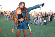 Festival Fashion and Boho Outfits From Coachella 2016