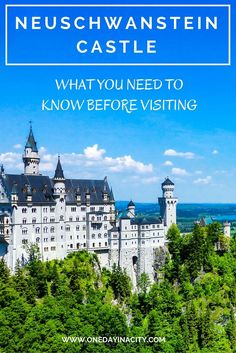 Travel tips for visiting Neuschwanstein Castle in the Bavarian region of Germany. This castle can be a stressful place to visit -- but it doesn't have to be!
