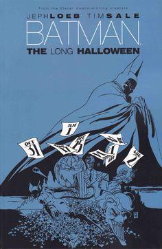 Batman The Long Halloween, Tim Sale. Comic Book