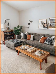 Boho Living Room, Living Room Grey, Living Room Modern, Living Room Designs, Living Room Interior, Living Room With Carpet, Cute Living Room, Fall Living Room, Bohemian Living