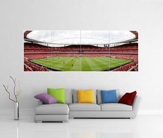 #Arsenal fc #emirates stadium afc giant wall art print #picture photo poster j41,  View more on the LINK: http://www.zeppy.io/product/gb/2/261220846440/