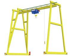 1 Ton Gantry Crane - Small Gantry Cranes With Easy Operation Cranes For Sale, Gantry Crane, Classic House Design, Tool Shop, Wood Working, Hulk, Small Tattoos, Workshop, Engineering