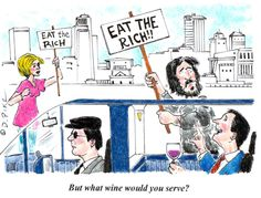 financial cartoons | Financial Cartoon of the Week: Eat the Rich