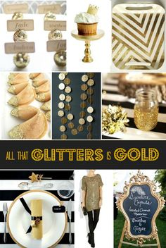 All that glitters is gold via Celebrations at Home Blog #asgoodasgold