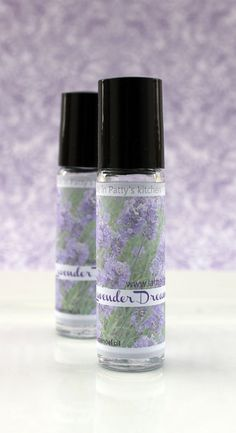 Lavender Perfume Oil by LatherRinseClean on Etsy, $5.00