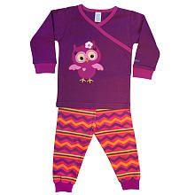 SOZO Girls 2 Piece Long Sleeve Owl Pajamas