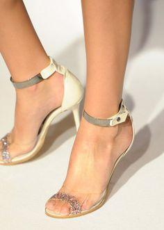 Cinderella Story  Transparent #Shoes FrontTrendfor Spring Summer 2013  Paola Frani Spring Summer 2013  #shoes