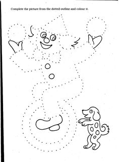 Clown Coloring Pages | Circus Coloring Pages | Fun Coloring Pages