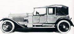 1913 London-to-Edinburgh Cabriolet by Barker (chassis 2358) for the Marquis de Arguelles of Madrid
