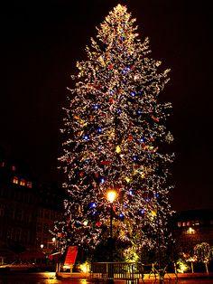 Christmas market, Strasbourg, France