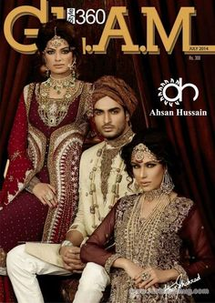 Wedding formal dresses collection by ahsan hussain for the year -14