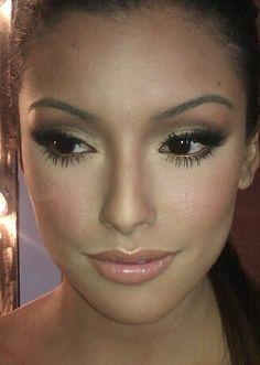 Kim Kardashian wedding make-up tutorial Perfect Makeup, Gorgeous Makeup, Love Makeup, Makeup Tips, Hair Makeup, Pretty Makeup, Makeup Ideas, Amazing Makeup, Nail Ideas