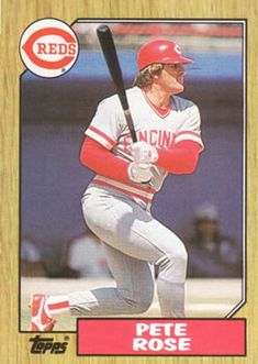 1987 Topps Pete Rose Cincinnati Reds Baseball Card - Mint Condition- Shipped In Protective ScrewDown Case! Pittsburgh Pirates Baseball, Cincinnati Reds Baseball, Selling Baseball Cards, Famous Baseball Players, Pete Rose, Better Baseball, Baseball Stuff, Red Team, Sports Figures