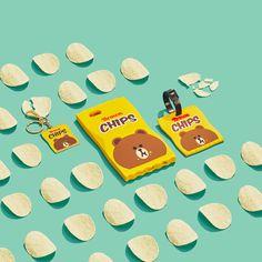 LineFriends burger&chips