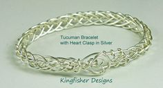 Jewelry Tutorial - Instant Download -Silver Tucuman Bracelet Braided Wire Bracelet - Sell Bracelets from this tutorial.  Wire Jewelry