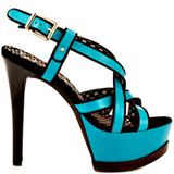 Jessica Simpson Shaelyn 3 - Ocean Blue Silk