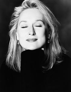 Meryl Streep.... what an awesome portrait !