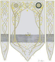 Arwen's Bedroom and Banner