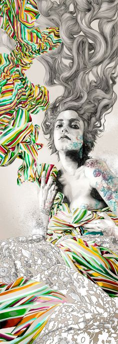 Here are some examples of illustrations from the Madrid-based artist Gabriel Moreno. Gabriel, Graffiti, Art Conceptual, Street Art, Arte Fashion, Drawn Art, Photocollage, Art Graphique, Fine Art
