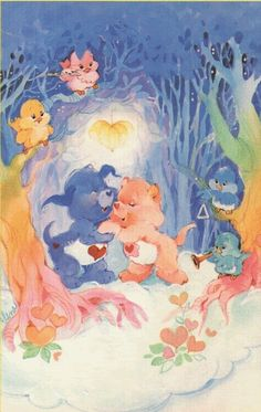 Can you name all of these classic Care Bears characters from the and Care Bear Tattoos, Care Bears Vintage, Bear Character, Bear Pictures, Vintage Cartoon, Bear Art, Vintage Artwork, Plush Animals, Cartoon Characters
