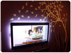 Oświetlenie Telewizora LED TV OKAZJA Dekoracja Flat Screen, Loft, Tv, Blood Plasma, Television Set, Flatscreen, Lofts, Dish Display, Attic Rooms