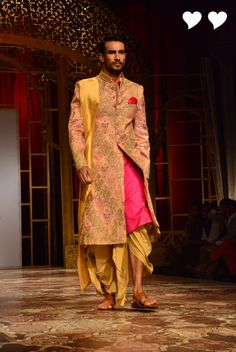 Raghavendra http://www.Rathore.com/#ad-image-0 Collection @ Indian Bridal Fashion Week 2014 #IBFW2014