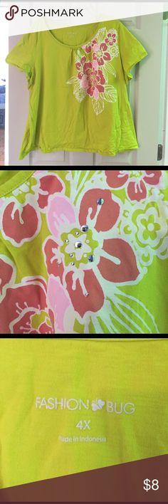 Colorful Tee EUC Fashion Bug Tops Tees - Short Sleeve