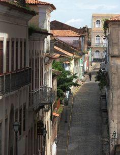 Ladeira, Old Downtown, São Luis, MA, Brazil by VRPF, via Flickr